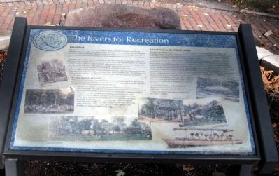 The Rivers for Recreation Marker image. Click for full size.