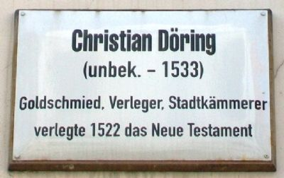 Christian Döring Marker image. Click for full size.