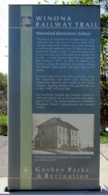 Waterford Elementary School Marker image. Click for full size.