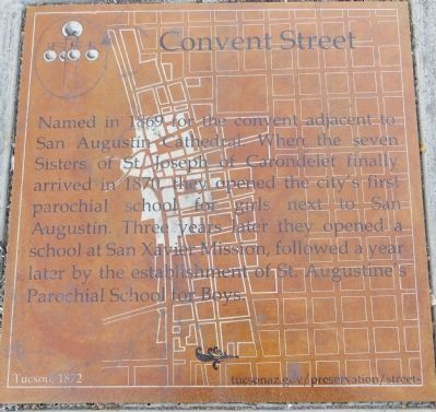Convent Street Marker Photo, Click for full size