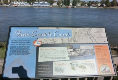From Creek to Canal Marker image. Click for full size.
