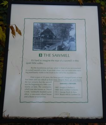 The Sawmill Marker image. Click for full size.