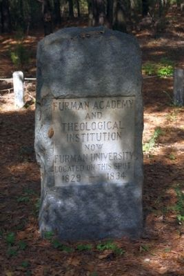 Site of Furman Academy Marker image. Click for full size.