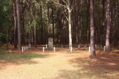 Site of Furman Academy Marker seen off of Dodgen Hill Road image. Click for full size.