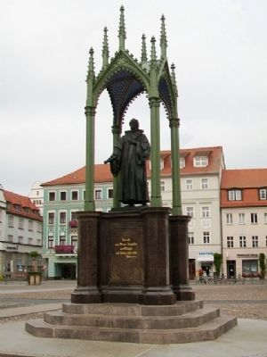 Philipp Melanchthon Monument image. Click for full size.