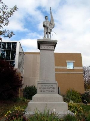 Allegan Civil War Monument image. Click for full size.