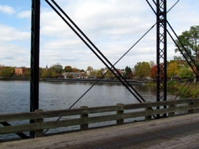 View of Kalamazoo River<br>from Second Street Bridge image. Click for full size.