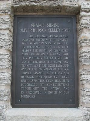 Grange Shrine Marker image. Click for full size.