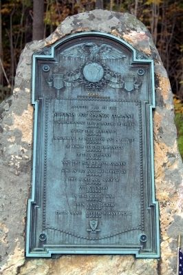 Virginia Hot Springs Company World War Memorial Marker image. Click for full size.