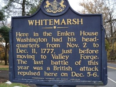 Whitemarch Marker image. Click for full size.