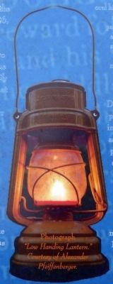 "Photograph of ""Low Hanging Lantern."" image. Click for full size."