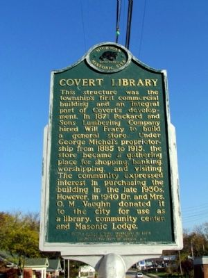 Covert Library Marker image. Click for full size.
