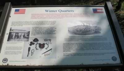 Winter Quarters Marker image. Click for full size.