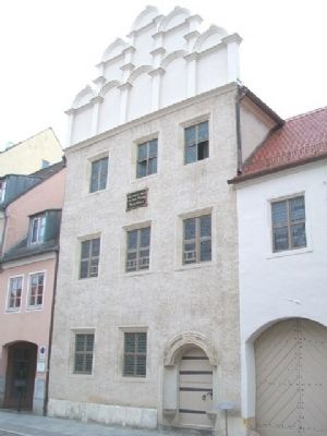 The Melanchthon House / Das Melanchthonhaus and Marker image. Click for full size.