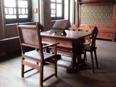 The Melanchthon House Study image. Click for full size.
