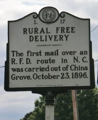 Rural Free Delivery Marker image. Click for full size.