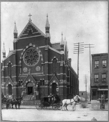 Saint Augustine original Catholic Church, est. 1899. image. Click for full size.