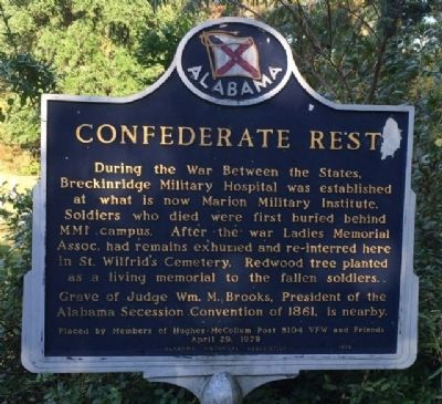 Confederate Rest Marker image. Click for full size.