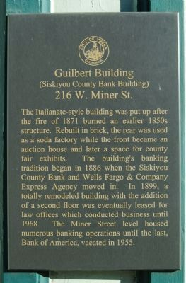 Guilbert Building Marker image. Click for full size.