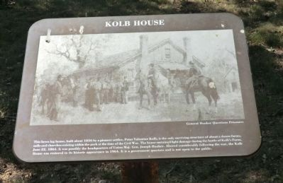Kolb House Marker image. Click for full size.