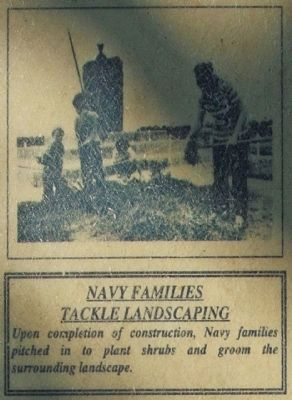 Navy Familes<br>Tackle Landscaping image. Click for full size.