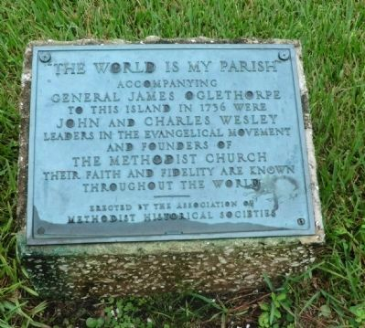 The World Is My Parish Marker image. Click for full size.