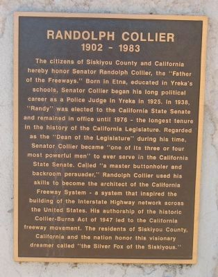 Randolph Collier Marker image. Click for full size.