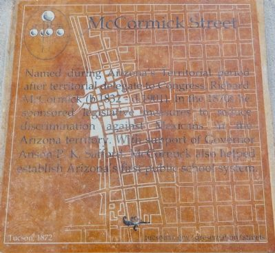 McCormick Street Marker image. Click for full size.