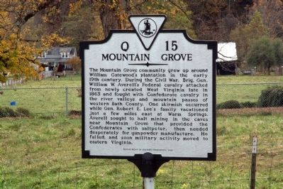 Mountain Grove Marker image. Click for full size.