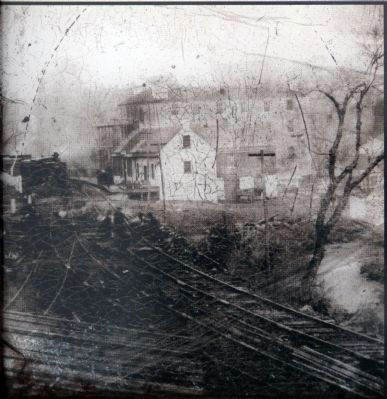 Sykes Hotel in the1860s image. Click for full size.