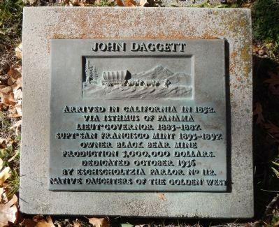 John Daggett Marker image. Click for full size.
