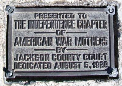World War Memorial Flagpole Marker image. Click for full size.