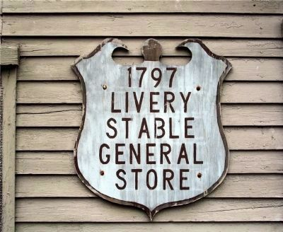 Livery Stable and General Store image. Click for full size.