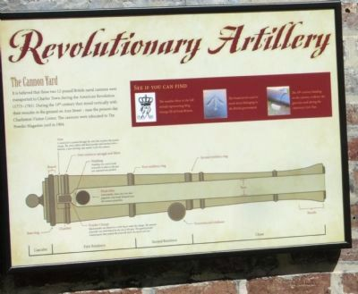 Revolutionary Artillery Marker image. Click for full size.