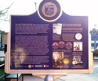 The McCoy Brothers Marker (side 2) image. Click for full size.