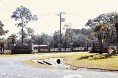 Camp Blanding entrance image. Click for full size.