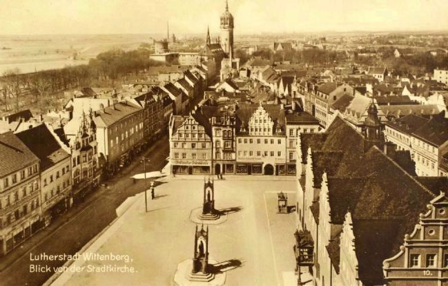 View of the Market Square from the Sankt Marien Church image. Click for full size.