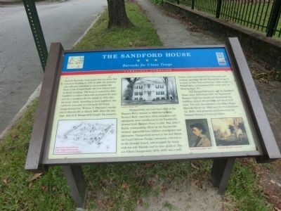 The Sandford House Marker image. Click for full size.