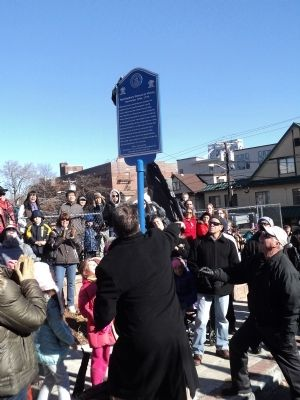 Unveiling the Marker image. Click for full size.