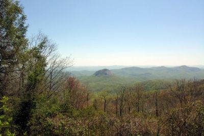 Looking Glass Rock as viewed from Marker image. Click for full size.