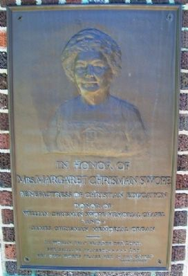 Margaret Chrisman Swope Marker image. Click for full size.