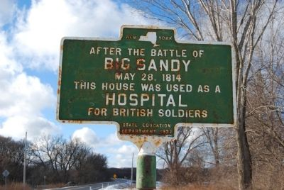 After the Battle of Big Sandy Marker image. Click for full size.