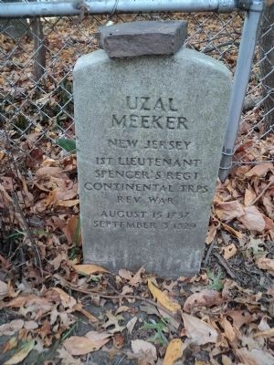 Grave of Uzal Meeker image. Click for full size.