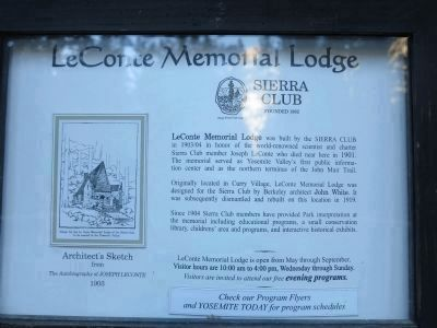 LeConte Memorial Lodge image. Click for full size.