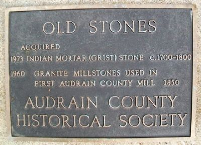 Old Stones Marker image. Click for full size.