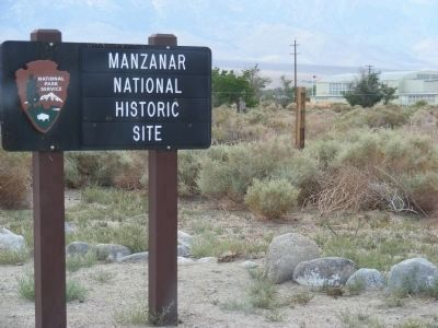Manzanar National Historic Site image. Click for full size.