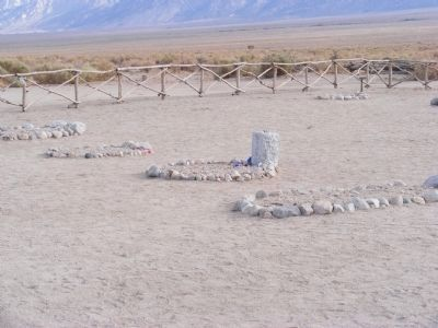 Manzanar Cemetery image. Click for full size.