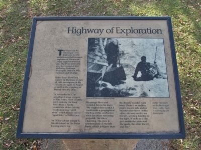Highway of Exploration Marker image. Click for full size.