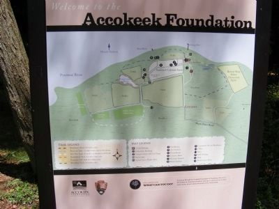 Accokeek Foundation at Piscataway Park Map image. Click for full size.