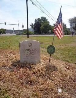 Major John Lee Grave image. Click for full size.
